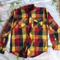 Nike Shirts | Nike Flannel Button Down Shirt | Color: Blue/Red | Size: S