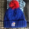 Adidas Accessories | Kansas Jayhawks Winter Hat Beanie | Color: Blue/Pink | Size: Os