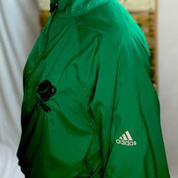 Adidas Jackets & Coats | 2008 Ncaa Adidas Staff Jacket 14 Zip | Color: Green | Size: L