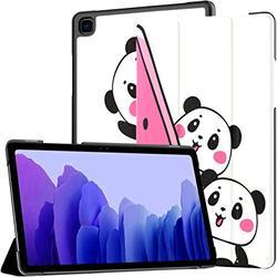 Fruit Cute Panda Animal Samsung Galaxy Tab A7 10.4 Case Galaxy Tab A7 10.4 Inch Samsung Galaxy Tab A7 10.4 Case Galaxy Tab A7 10.4 Case with Auto Wake/Sleep Fit Galaxy Tab A7 10.4