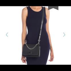 Michael Kors Bags | Nwt Michael Kors Mott Leather Crossbody | Color: Gray | Size: Os