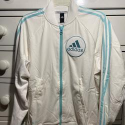 Adidas Jackets & Coats | Adidas X Parley For The Oceans Jacket | Color: White | Size: S