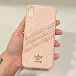 Adidas Accessories | Adidas Snakeskin Iphone Xs Case | Color: Pink | Size: Iphone X