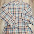 J. Crew Shirts | J. Crew Mens Sm Plaid Ls Button Shirt 24 X 20 | Color: Blue/Brown | Size: S