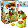 Rattlesnake Jake - Get the Gold Before He Strikes! Family & Preschool Kids Game, Trap board game for Kids Game,Scary Rattlesnake Prank Toys