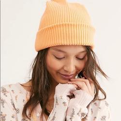 Free People Accessories   Free People Slouchy Orange Beanie   Color: Orange   Size: Os