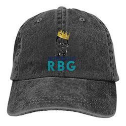 NANDAOFENG Notorious RBG Unisex Baseball Cap Fits Men Women Washed Denim Adjustable Dad Hat