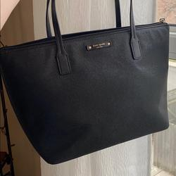 Kate Spade Bags | Kate Spade Sparkly Tote In Kate Spade Bag | Color: Black | Size: Os