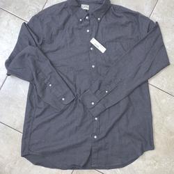 J. Crew Shirts   J.Crew J.Crew Classic Button Up Long Sleeve J6736   Color: Gray   Size: Xxl