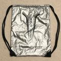 Nike Other | Nike Speed Drawstring Backpack | Color: Black/Silver | Size: Os
