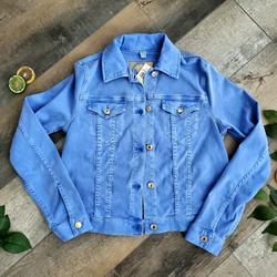 Michael Kors Jackets & Coats   Michael Kors Stretchy Jean Jacket   Color: Blue   Size: M