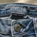 American Eagle Outfitters Jeans | Low Rise American Eagle Super Stretch Skin Jeans | Color: Blue | Size: 6