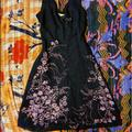 Free People Dresses | Sexy Slip Dress Free People Ssmall | Color: Black/Pink | Size: S