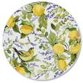 CounterArt Glass Watercolor Lemons Cutting Board Glass, Size 0.5 H in | Wayfair 207-00009