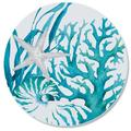 CounterArt Glass Coral Life Cutting Board Glass, Size 0.5 H in | Wayfair 207-00004
