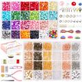 24 Types Natural Gemstone Crystal Chips Beads Kit for Jewelry Making with Earring Findings 6 Type Earring Hooks Earring Backs Jump Rings for DIY Necklace Bracelet Earring Jewelry Making Supplies
