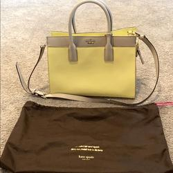 Kate Spade Bags | Kate Spade Top Handle Bag. Excellent Condition | Color: Yellow | Size: Os