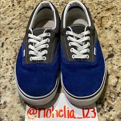 Vans Shoes   Blue & Gray Vans   Color: Blue/Gray   Size: 11