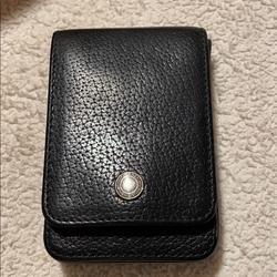 Coach Accessories | Coach Card Holdercase | Color: Black/Tan | Size: Card Size