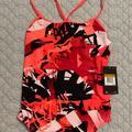 Nike Swim | Size 36 Womens Nike One Piece Swim Suit | Color: Pink | Size: 36 Swim Suit