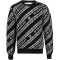 Chain Logo Jumper - Black - Givenchy Knitwear
