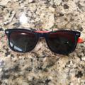 Ray-Ban Accessories | Kids Ray-Ban Sunglasses. | Color: Blue/Orange | Size: Osb