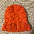 Free People Accessories   Free People Fluffy Knit Coral Beanie   Color: Orange/Red   Size: Os