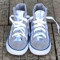 Converse Shoes   Converse All Star High Tops Infant Toddler Shoes 8   Color: Gray/White   Size: 8g