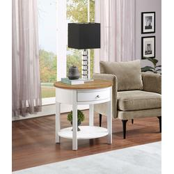 Classic Accents Cypress End Table - Convenience Concepts 501042WDFTW
