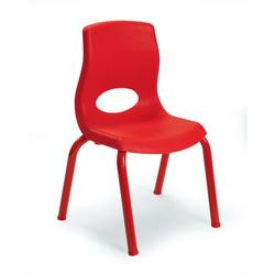 """MyPosture 10"""" Child Chair - Red - Children's Factory AB8010PR"""