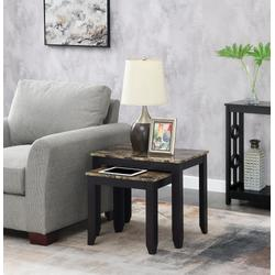 Baja Nesting End Tables - Convenience Concepts 121576BNMES