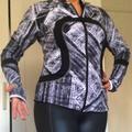 Lululemon Athletica Jackets & Coats | Lululemon Black And White Reversible Jacket | Color: Black/White | Size: 8