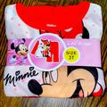 Disney Pajamas   Disney Minnie Mouse   Color: Red/White   Size: 3tg