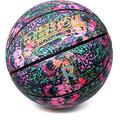 REBOIL Colorful Street Basketball – Impressionism Series – Advance Composite Leather for Indoor and Outdoor for Women, Girls, Boys and Youth – Official Size and Weight. (Victoria, Size 6)