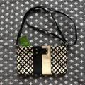 Kate Spade Bags | Nwt Kate Spade Presley Classic Spade Crossbody Bag | Color: Black/Cream | Size: Os