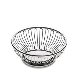 Ufficio Tecnico Alessi Fruit Basket Stainless Steel in Gray, Size 9.5 W in   Wayfair 826/20