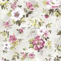 "Brewster Home Fashions Rosemore 33' x 20.5"" Amalia Garden 3D Embossed Wallpaper in White | Wayfair 2605-21635"