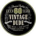 Creative Converting Vintage Dude 40th Birthday Dessert PlatesPaper in Blue   Wayfair DTC414067PLT