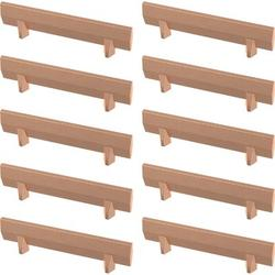 """Franklin Brass Gathered Blade Kitchen Cabinet or Furniture Drawer 3"""" Center Bar Pull Multipack Metal in Brown, Size 4.4 H x 0.51 W in 
