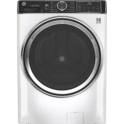 GE Appliances Smart 5 cu. ft. Energy Star High-Efficiency Front Load Washer in White, Size 39.75 H x 28.0 W x 34.0 D in | Wayfair GFW850SSNWW