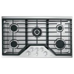 """Café™ 36"""" Built-In Gas Cooktop w/ 5 Burners in Gray, Size 5.5 H x 21.0 W x 36.0 D in 