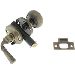 idh by St. Simons Solid Brass Storm Screen Door Latch in Black, Size 1.31 H x 2.75 W x 1.18 D in   Wayfair 21250-019