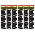 "TREND enterprises, Inc. Polka Dots Terrific Trimmers in Orange, Size 41""H X 2""W | Wayfair T-92662-6"