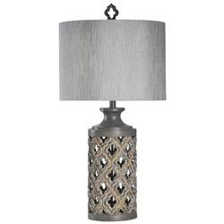 "Bungalow Rose Dobrila 35"" Table Lamp Resin/Fabric, Size 34.5 H x 16.5 W x 16.5 D in   Wayfair 2D7C592CBF8C4581806E036447A93246"