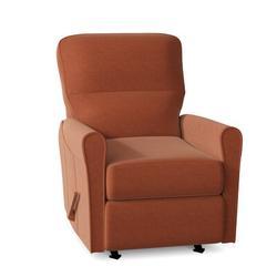 "Palliser Furniture Birch 29.3"" Wide Power Wall Hugger Standard Recliner Polyester/Polyester Blend in Orange, Size 38.8 H x 29.3 W x 37.6 D in"