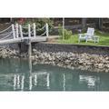 Breakwater Bay Dina Side Table Wood in Green, Size 17.0 H x 19.5 W x 19.5 D in | Wayfair JB40-P20