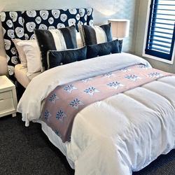 East Urban Home Flag Fleece Throw Fleece & Microfiber in Pink/White, Size 60.0 H x 50.0 W in | Wayfair 5C99CDE17C6A46D282673F0DBE928BE6
