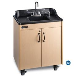 """Ozark River Portable Sinks Lil' 26"""" L x 18"""" W Portable Handwash Station w/ FaucetStainless Steel/Plastic in Gray, Size 30.0 H x 26.0 W x 18.0 D in"""