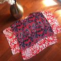Michael Kors Tops   Michael Kors Cover Up   Color: Blue/Red   Size: 1x