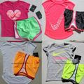 Nike Matching Sets | 8pc Nike Girls Summer Shorts & Tops Brand New | Color: Pink/Yellow | Size: 6g